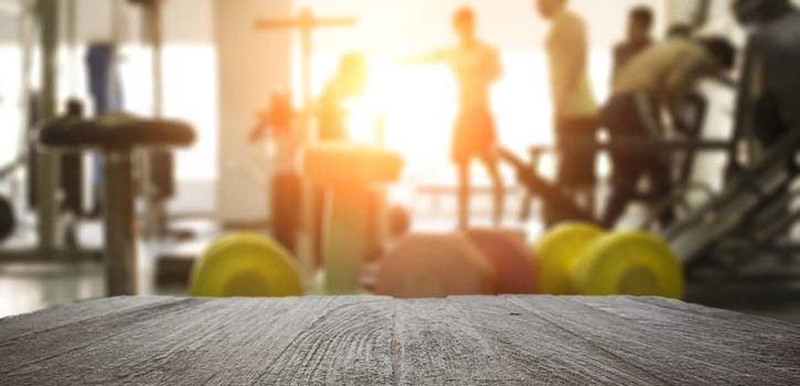 Personlig trener på treningssenter
